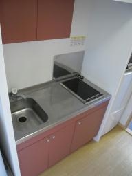 レオパレスエトワール城南 205号室のキッチン