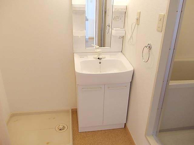 サンライズ 03030号室の洗面所