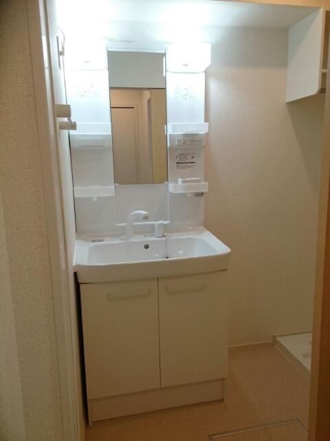 キャメルチュイール 02010号室の洗面所