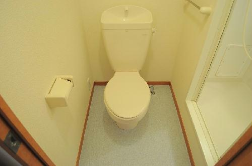 レオパレスグランディール 105号室のトイレ