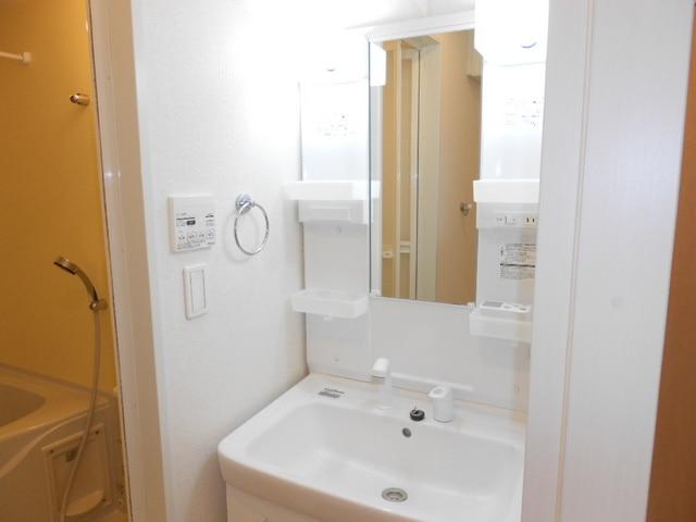 ファミール木幡 01060号室の洗面所