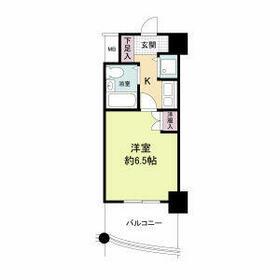 ジョイフル紫野・0404号室の間取り