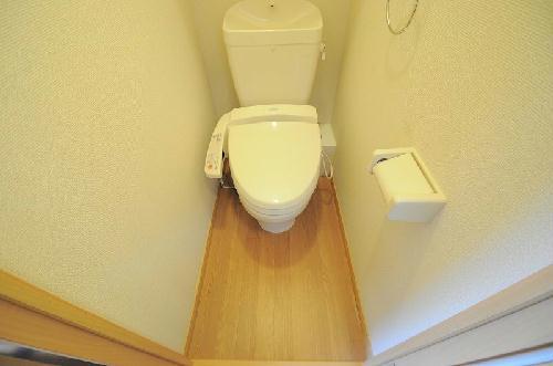レオパレスコーポ西新道バザール 101号室のトイレ