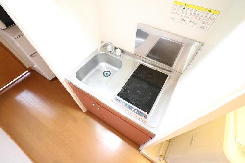 レオパレスエヴァーグリーン 206号室のキッチン