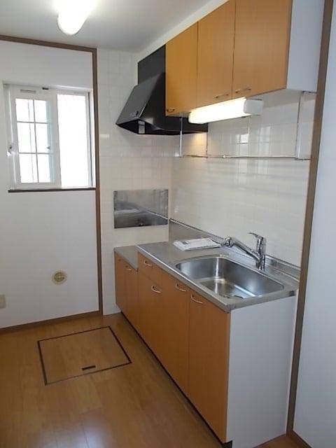 ビバーチェⅠ 01020号室のキッチン