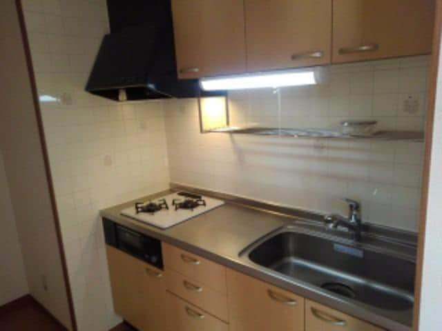 ピュア パレス A 03040号室のキッチン