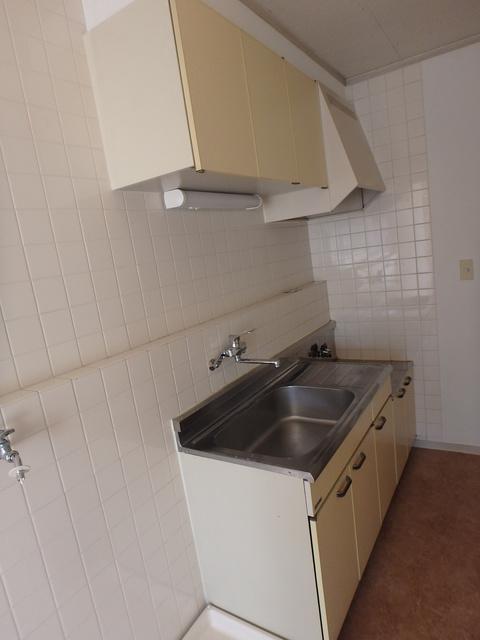 ハス ニューハウン A102号室のキッチン