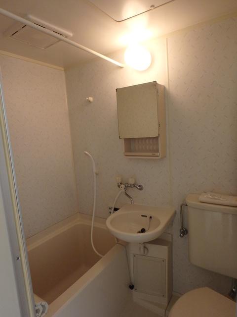 ハス ニューハウン A102号室の風呂