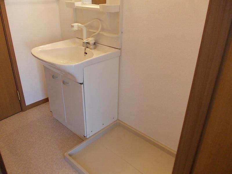 フロレスタⅢ 02010号室の洗面所