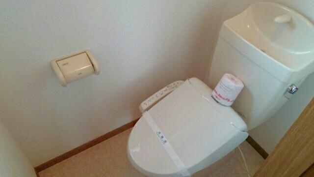 フロレスタⅢ 02010号室のトイレ