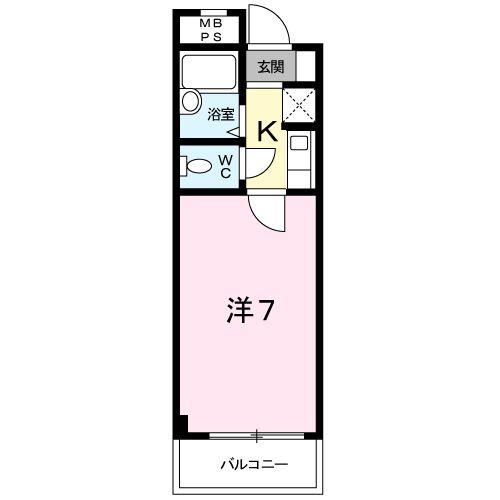 エスペランサ127・02030号室の間取り
