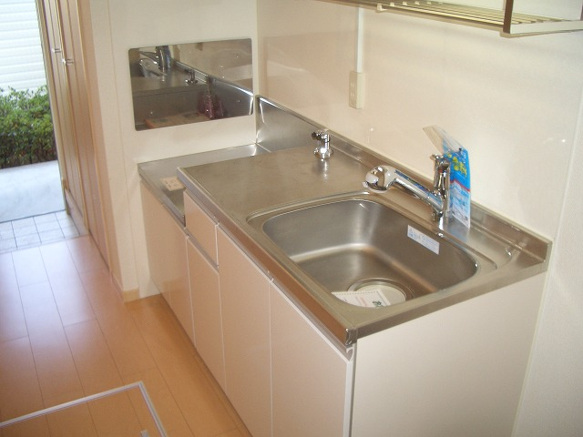 ソレイユ 01040号室のキッチン