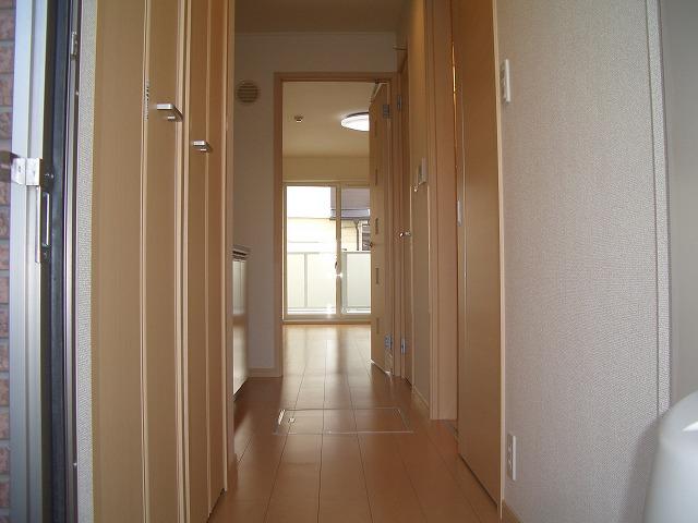 ソレイユ 01040号室のバルコニー