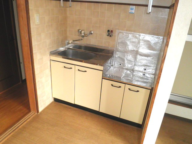 池上コーポ 201号室のキッチン