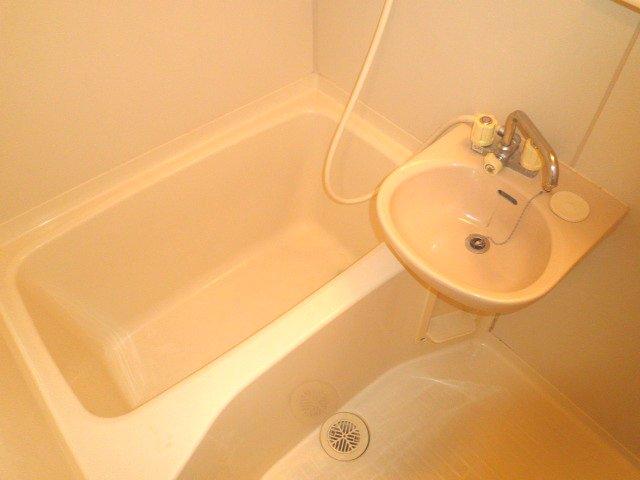 池上コーポ 201号室の風呂