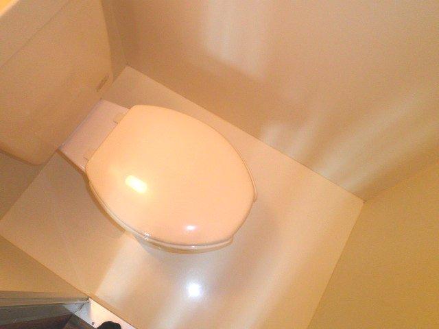 池上コーポ 201号室のトイレ