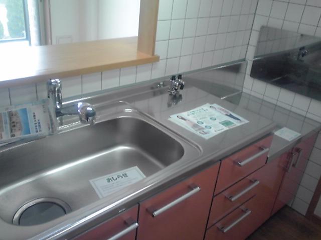 クリスタルウイング輝 03050号室のキッチン