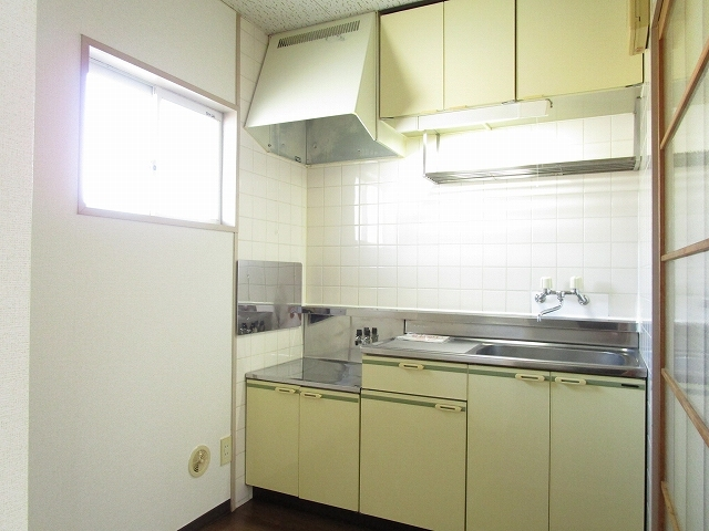 フローラル内藤D 01040号室のキッチン