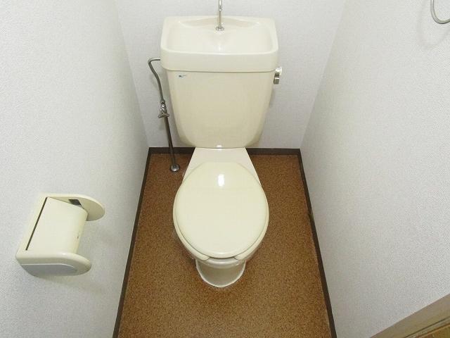 フローラル内藤D 01040号室のトイレ