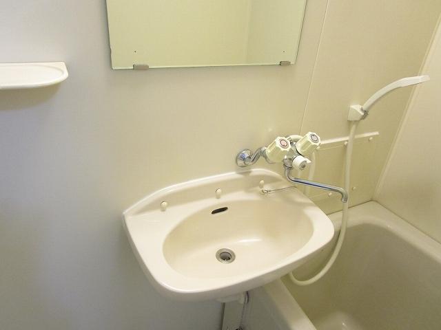 フローラル内藤D 01040号室の洗面所