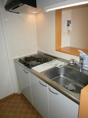 メゾン・エトワールⅡ 02020号室のキッチン
