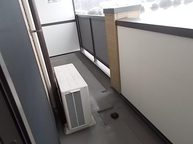 カルム ソレイユ JN 03040号室のバルコニー