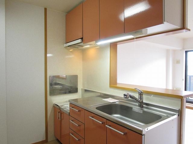 カルム ソレイユ JN 03040号室のキッチン