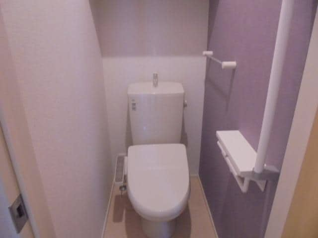 アリエッタⅡ 01010号室のトイレ