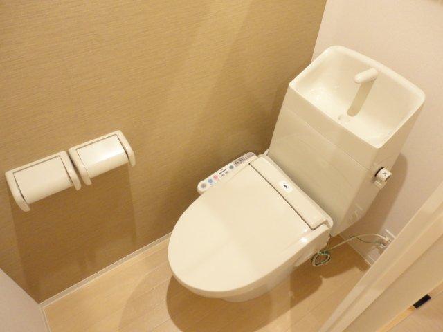 フォルトゥーナ 201号室のトイレ