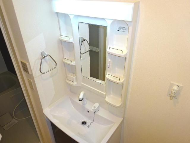 マネージュ 201号室の洗面所