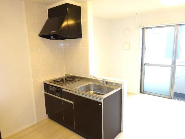 マネージュ 201号室のキッチン