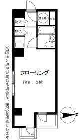 パラシオン浜松町・1004号室の間取り