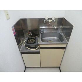 スカイコーポラスⅡ 0105号室のキッチン