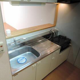 シャルマンヤマフク 203号室のキッチン