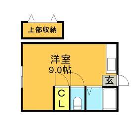 塚本コーポ・105号室の間取り