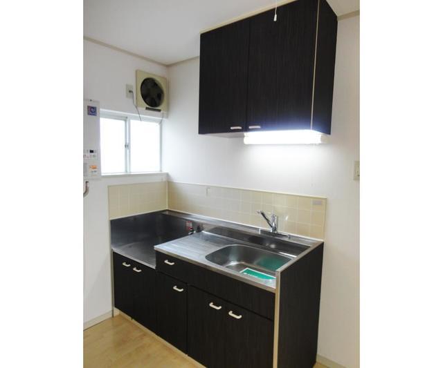 グリーンシャトル 201号室のキッチン