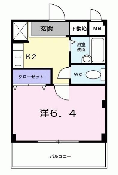 アルトピア-ノ・01020号室の間取り