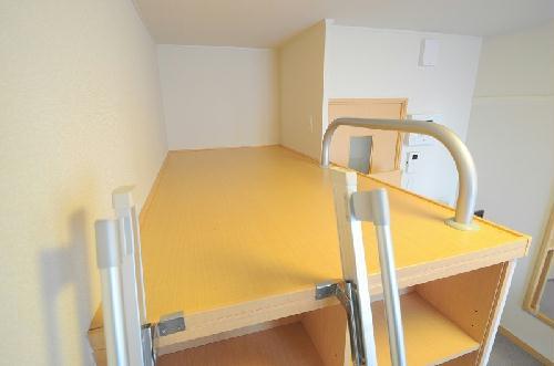 レオパレスOKANISHI 306号室のリビング