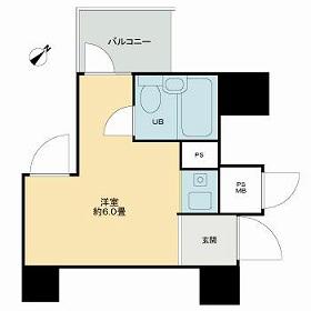 ライオンズマンション神戸・703号室の間取り