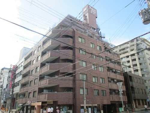 ライオンズマンション神戸の外観