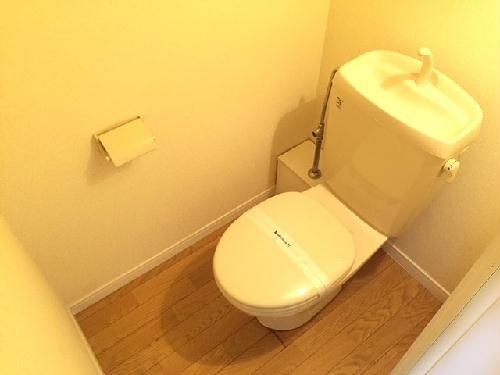 レオパレスアプリコット 109号室のトイレ