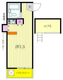 レルシア千川壱番館・206号室の間取り