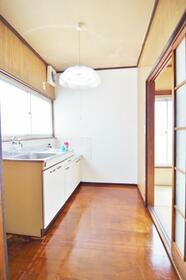 厚川店舗 2号室のキッチン