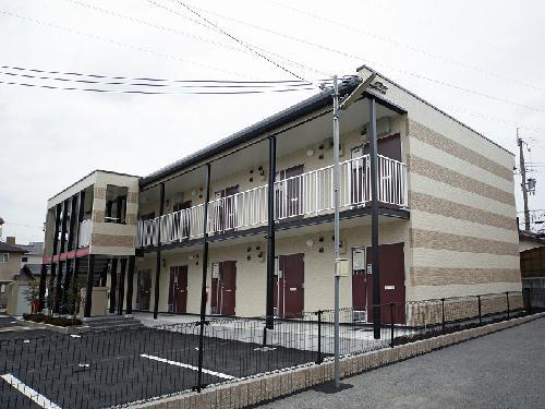 レオパレスコンフォート安倉の外観