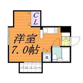 ジュネパレス松戸第96 0103号室の間取り
