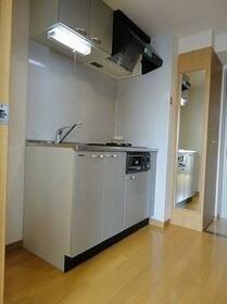 グランフォース早稲田 3F号室のキッチン