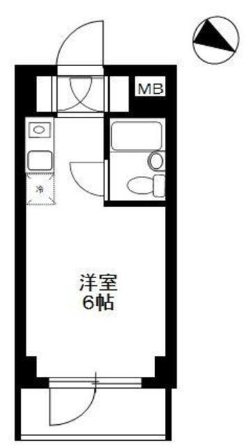 TOP東村山 A棟・306号室の間取り