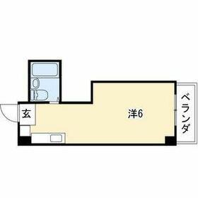 ビラ三秀鶴舞・413号室の間取り