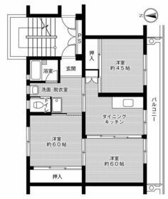 ビレッジハウス志度1号棟・0107号室の間取り