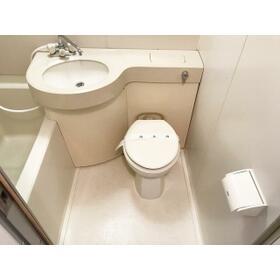 オリエント日暮里 107号室のトイレ